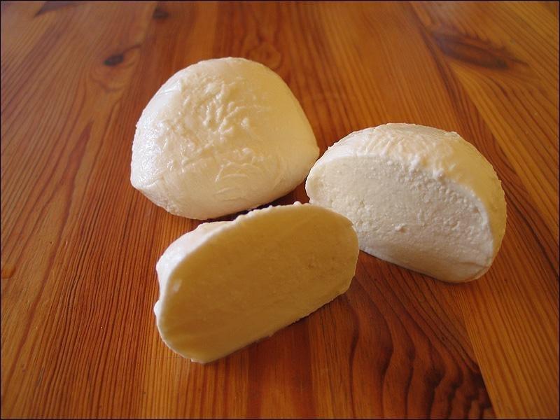 Сыр по-домашнему как моцарелла