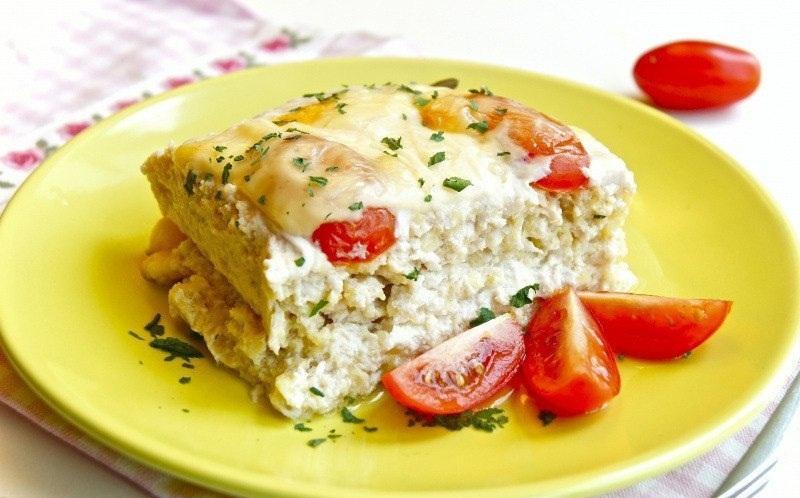 Запеканка из кабачков и картофеля и курицы в духовке рецепты