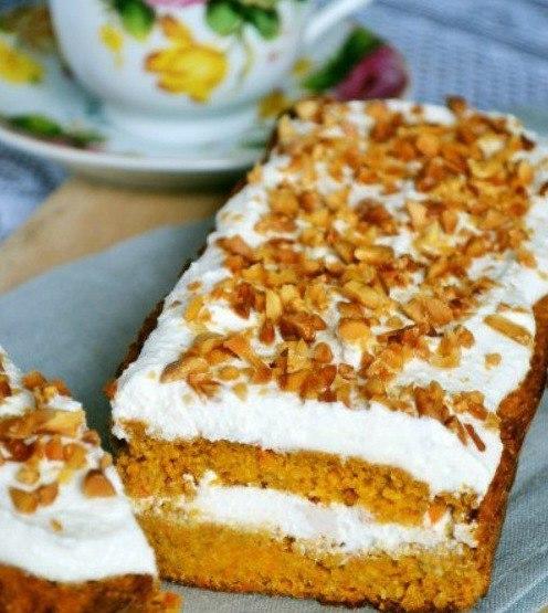 Питательный морковный тортик