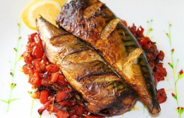 Рыба духовке гриль рецепты фото