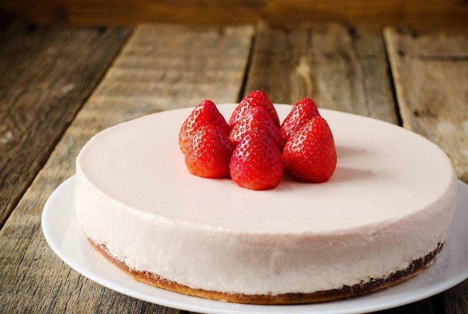 Творожный фитнес-торт