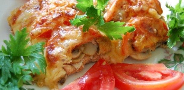 Треска с помидорами и сыром в духовке рецепт пошагово