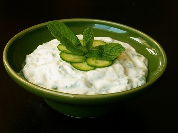 Цацики - греческий соус