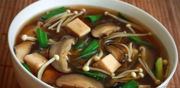 Диетический мисо-суп