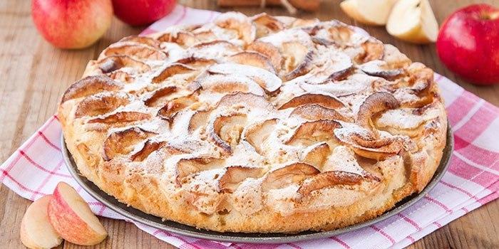 Яблочный пирог без грамма сахара