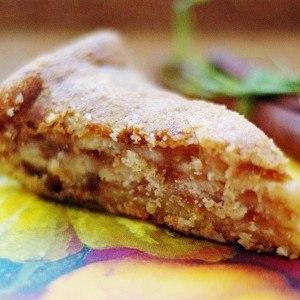 Быстрый яблочный пирог на кефире